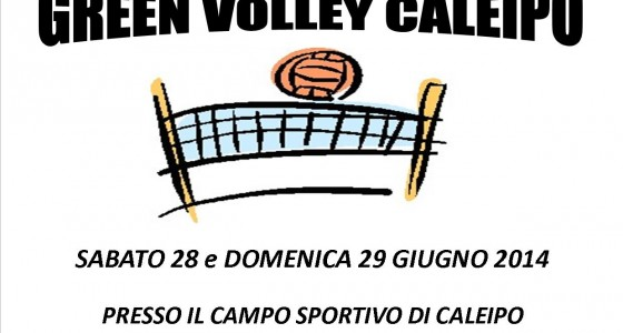 FOTO E COMMENTO!!! GREEN VOLLEY CALEIPO!!!!!